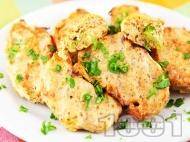 Рецепта Крокети от тиквички печени на фурна